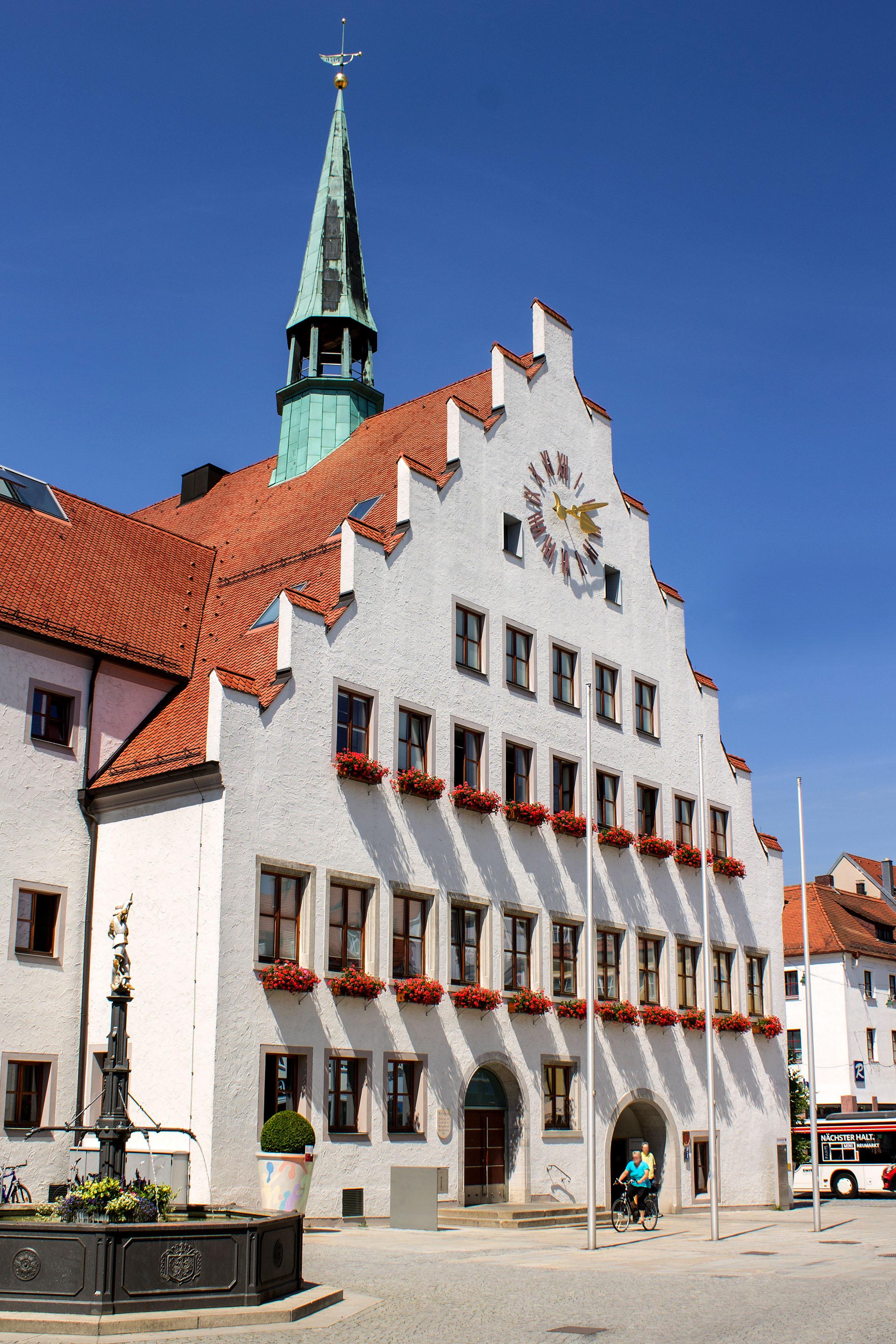 Town hall in Neumarkt - Rathaus Neumarkt