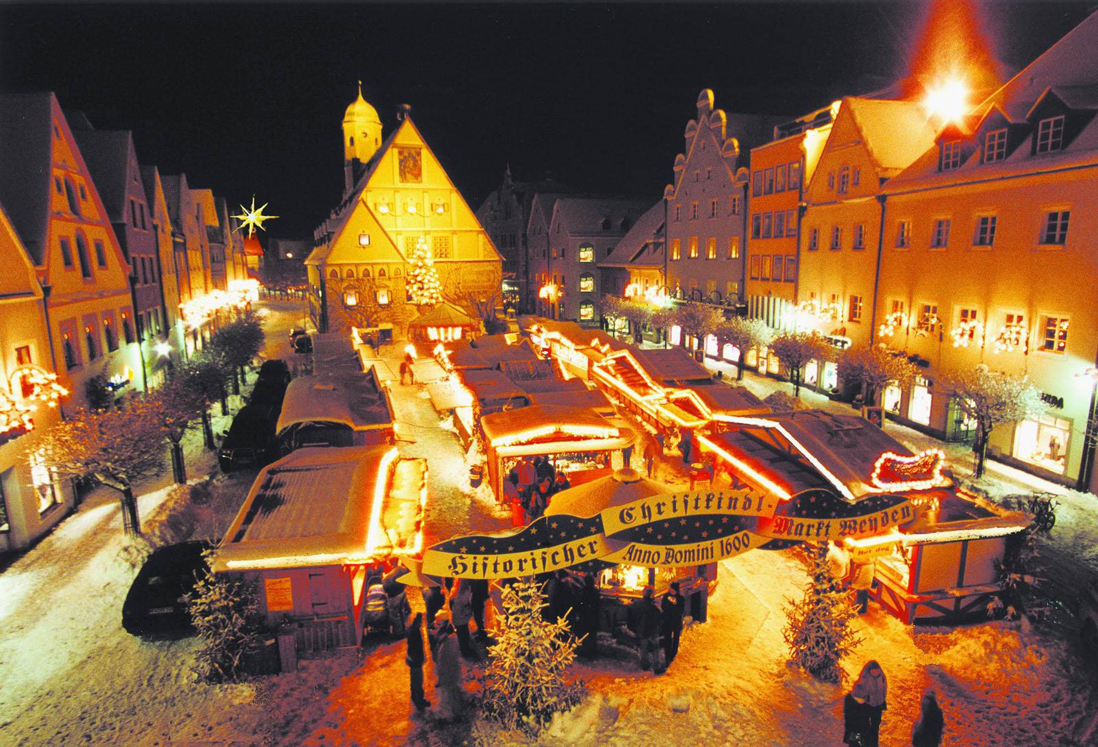 Christmas Market Weiden - Historischer Christkindlmarkt in Weiden