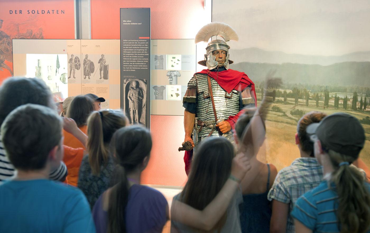 Spannende römische Geschichte erleben im Museum Quintana Künzing