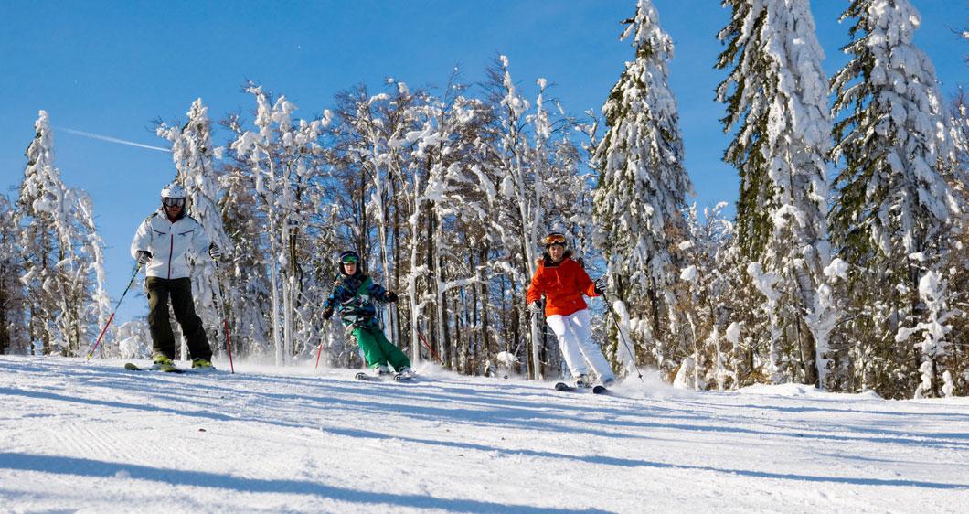 Familienfreundliche Skigebiete im Bayerischen Wald