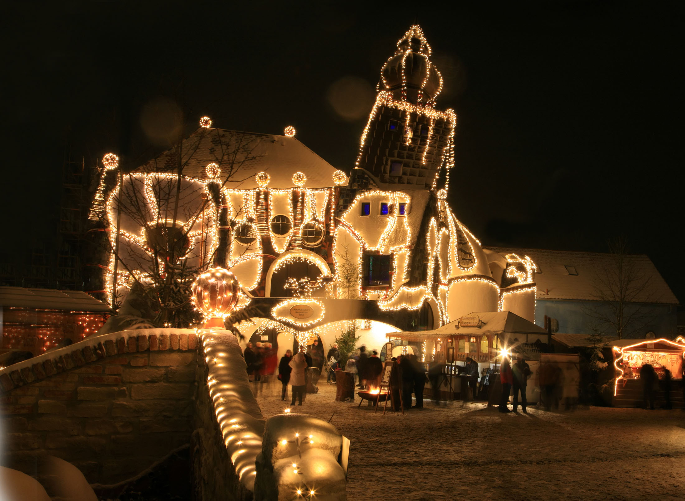 Christmas market in the brewery Kuchlbauer - Kuchlbauer's Turmweihnacht