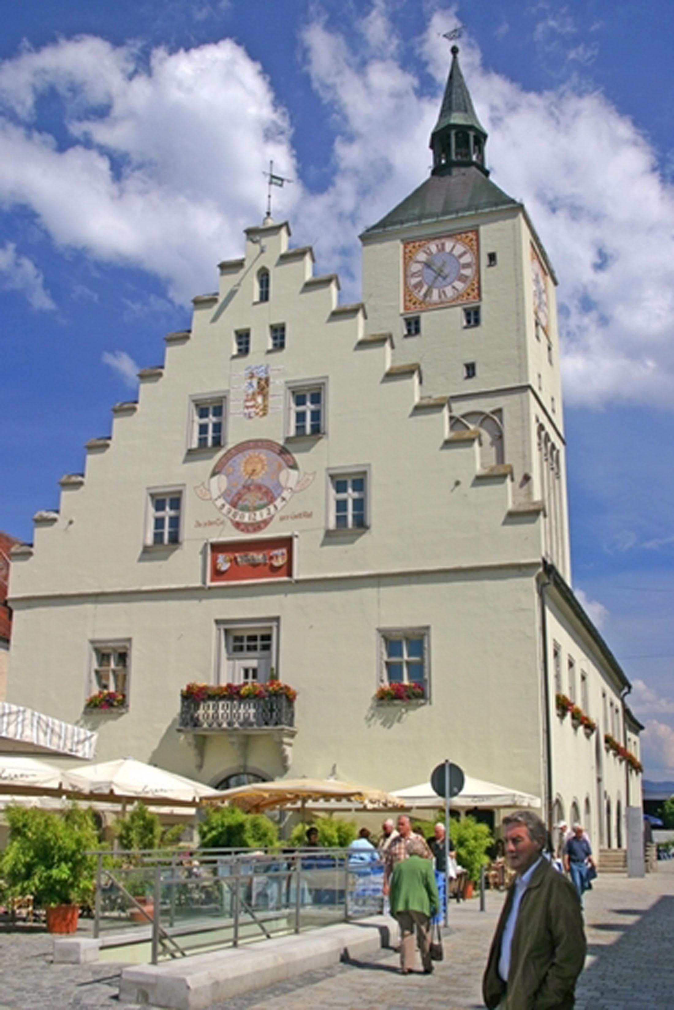 Town hall Deggendorf - Altes Rathaus Deggendorf