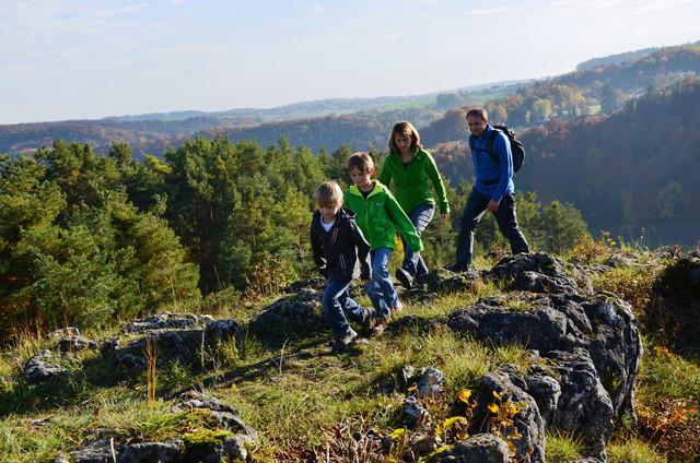 Wandern Burgensteig Regensburger Land