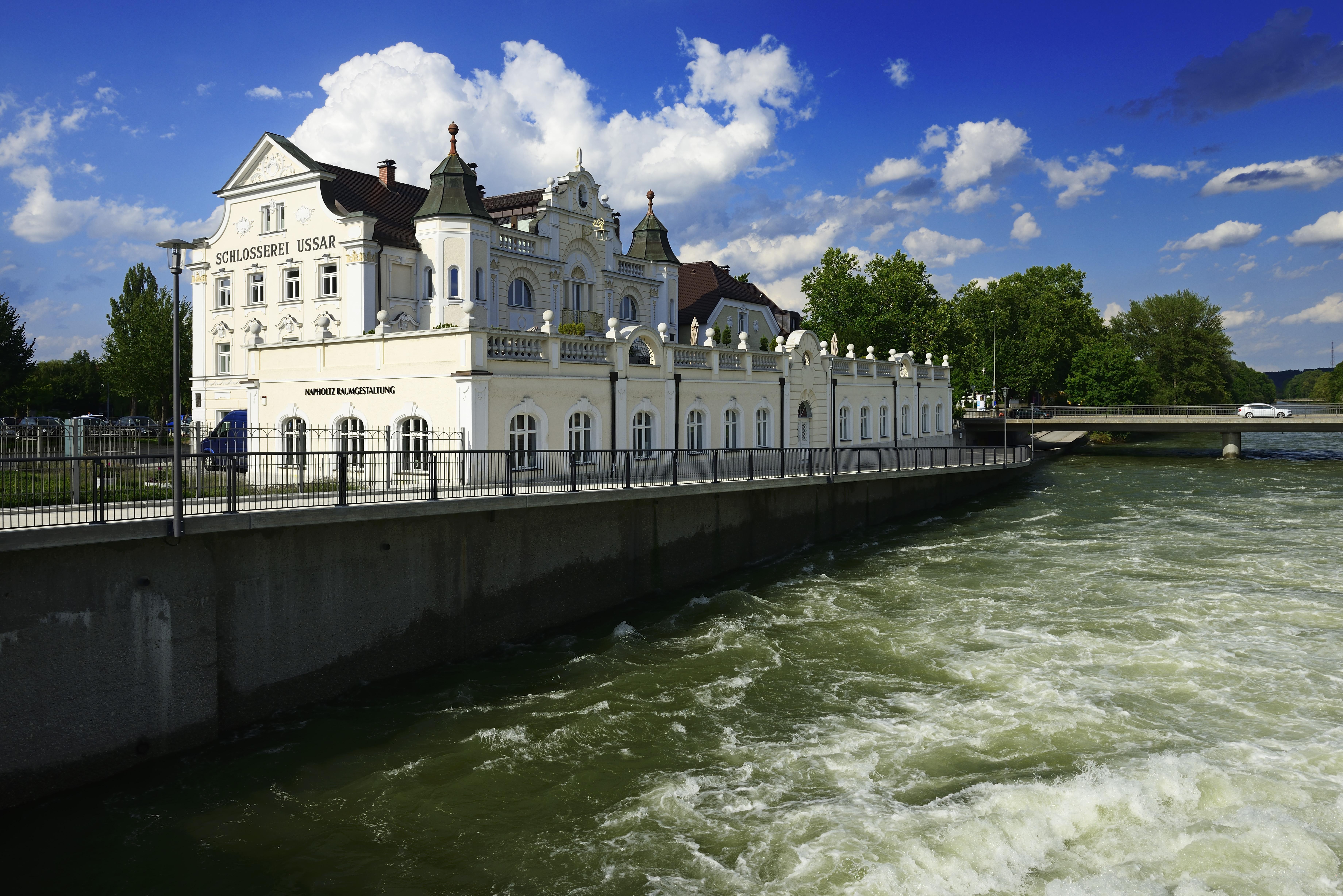 An der Isar in Landshut