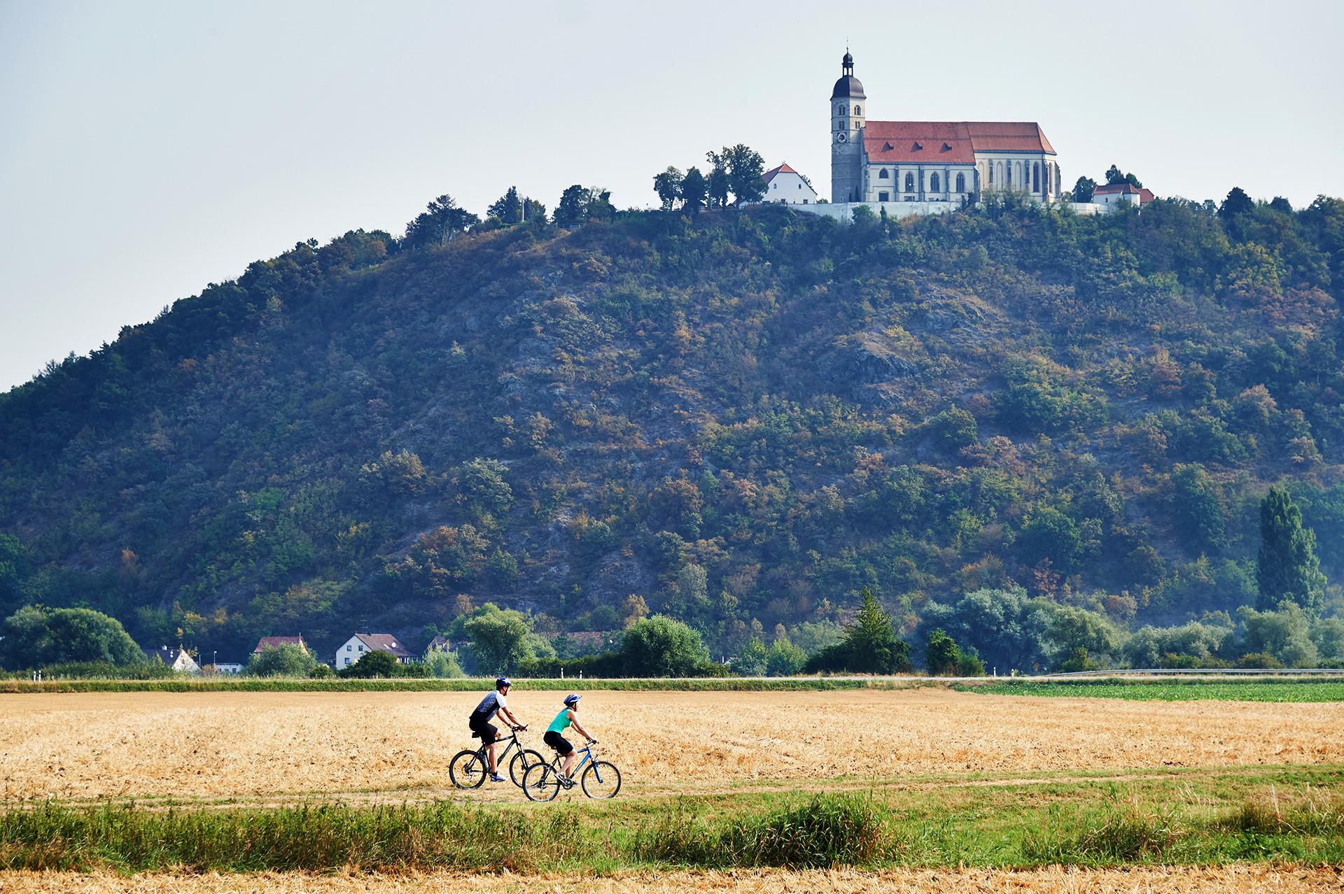 Radfahren am Bogenberg