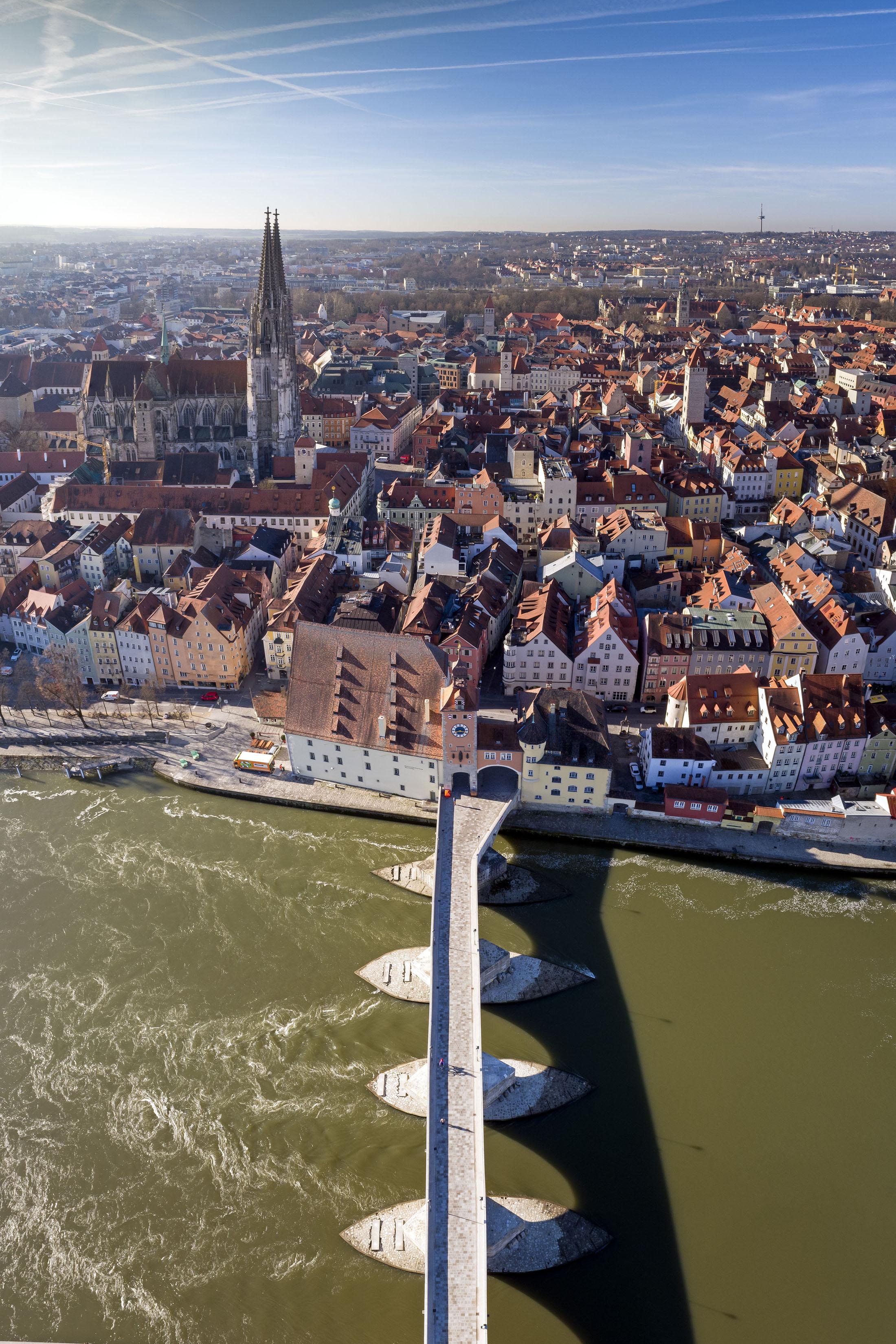 UNESCO-World Heritage Site Old Town of Regensburg - UNESCO Welterbestadt Regenburg