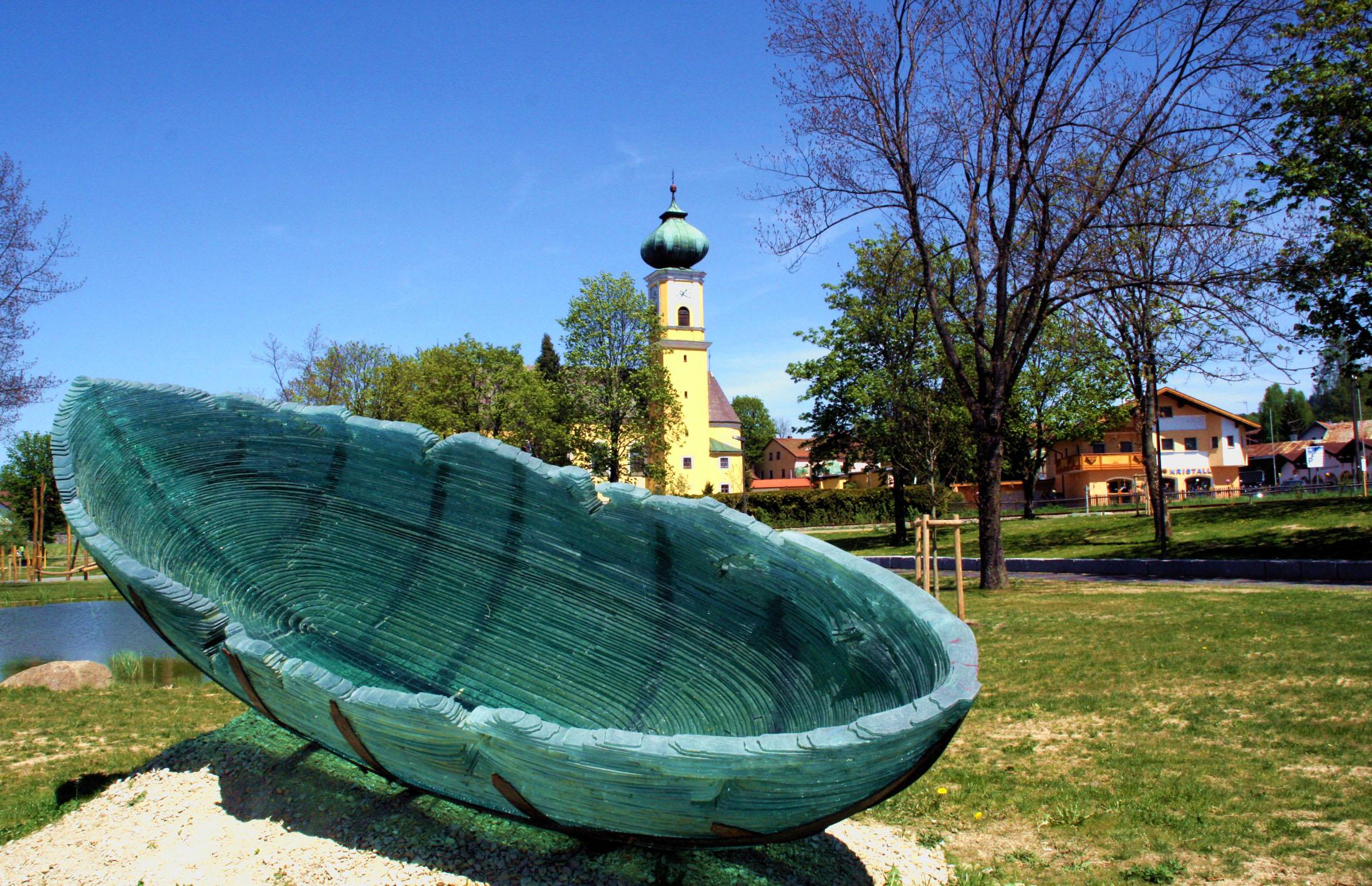 Glas Gardens in Frauenau - Gläserne Gärten in Frauenau