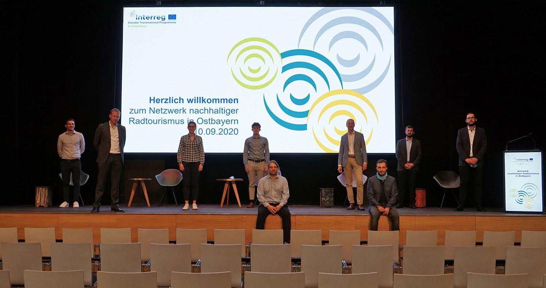 Vom TVO und CenTouris gemeinsam organisierte Netzwerkveranstaltung zum Radtourismus am 10.09.2020 im marinaforum Regensburg.