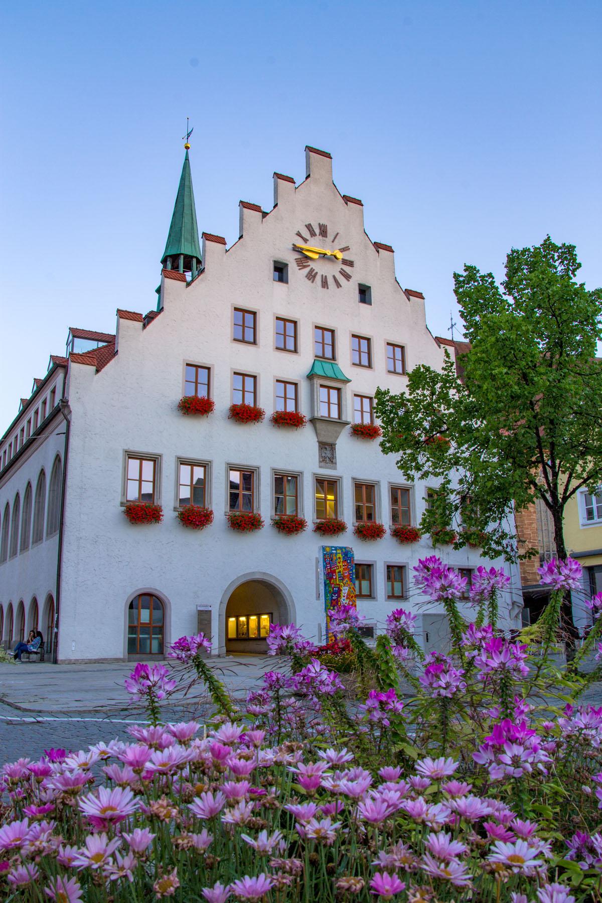 Das Historische Rathaus in Neumarkt