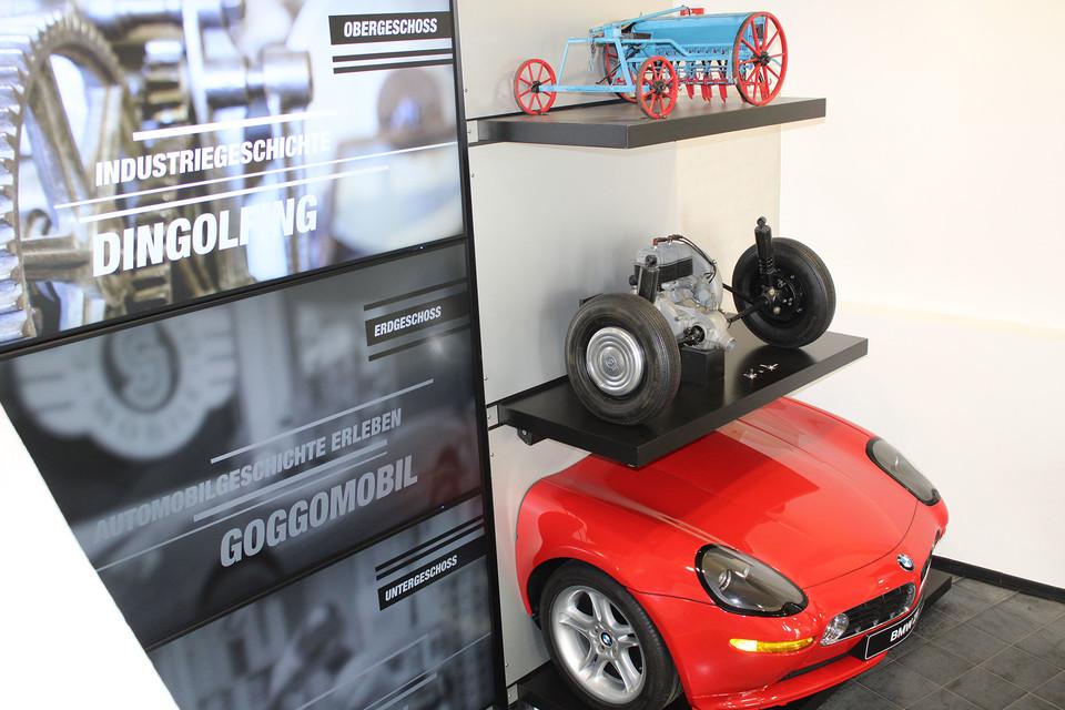 Automobil- und Industriegeschichte hautnah erleben im Museum Dingolfing