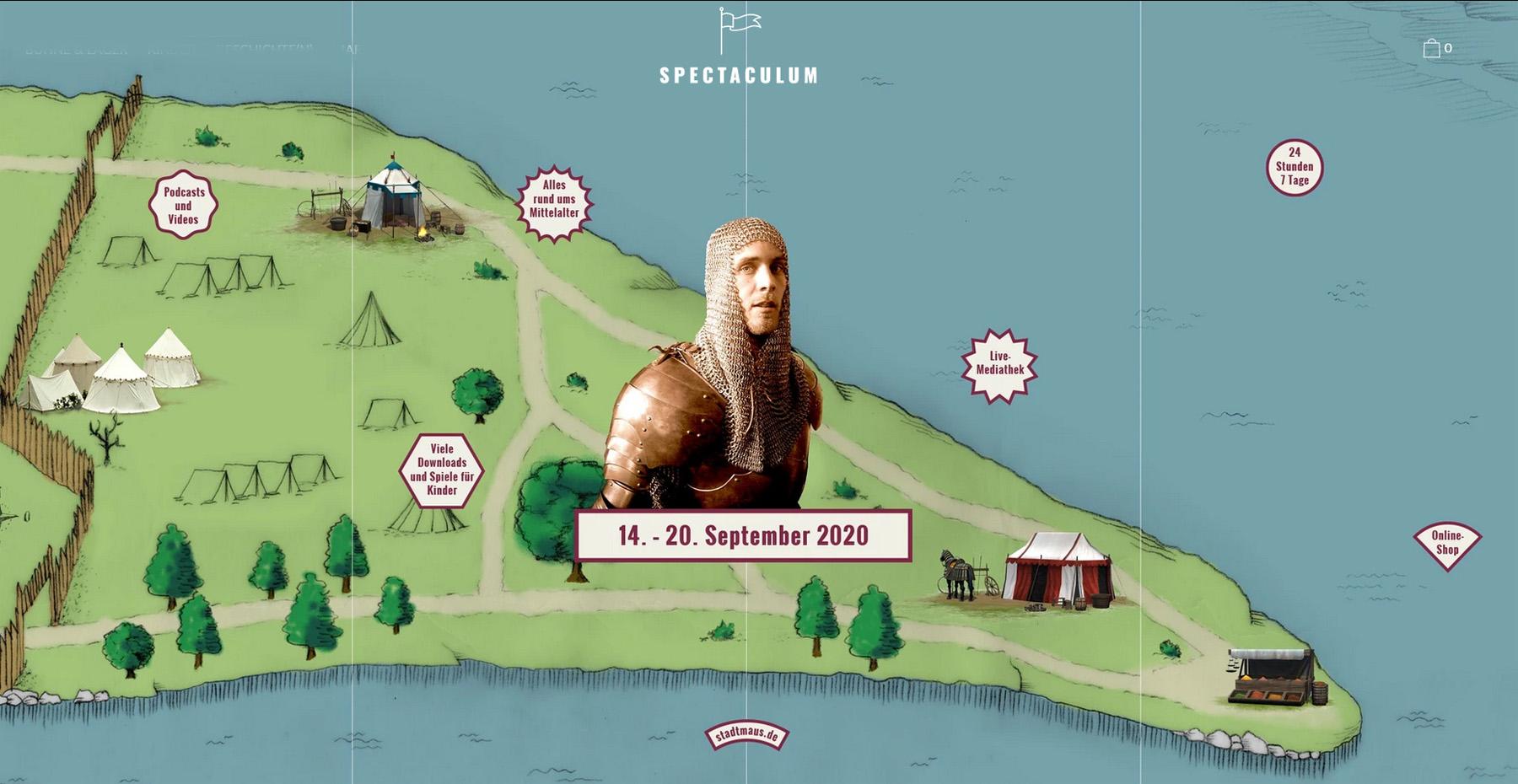 Vom 14. bis 20. September findet das Regensburger Mittelalterfest online statt.