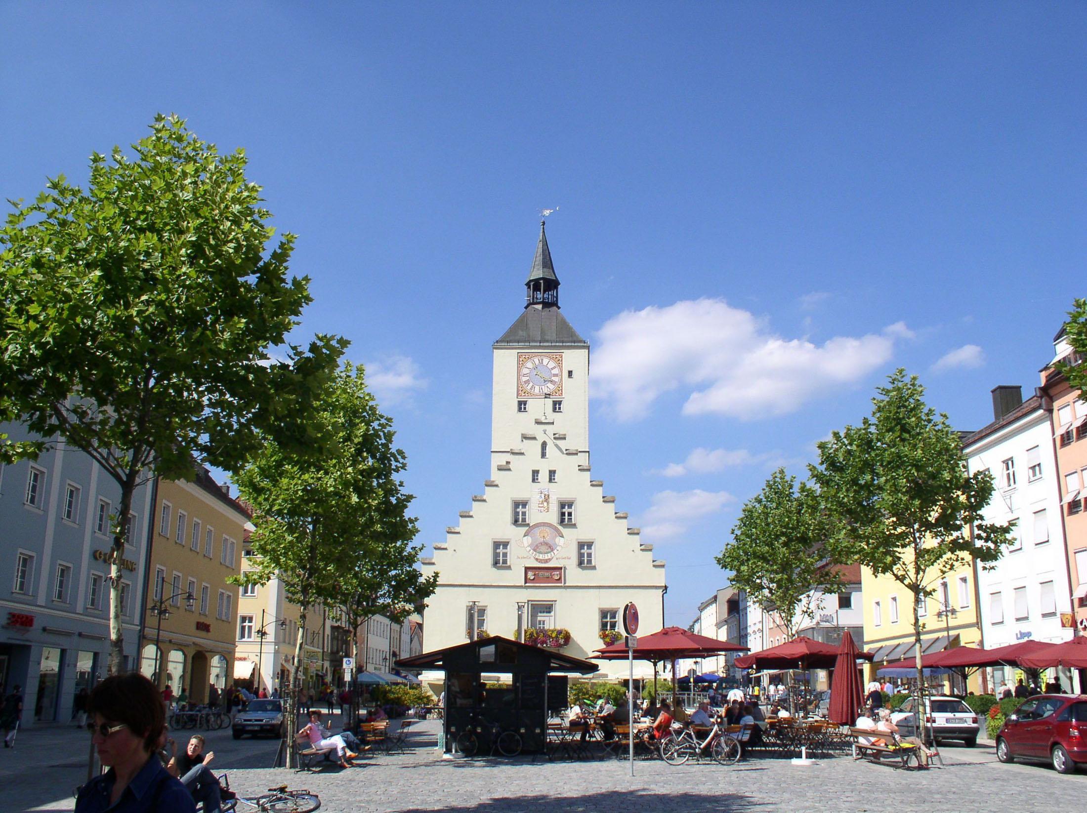 Town hall Deggendorf - Altes Rathaus in Deggendorf