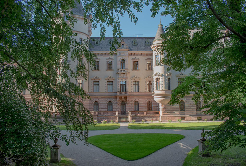 Das Fürstenschloss der Familie Thurn und Taxis