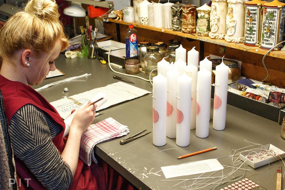 Ur-Ur-Ur-Enkelin Juliane Wiedemann leitet heute in sechster Generation den Handwerksbetrieb.