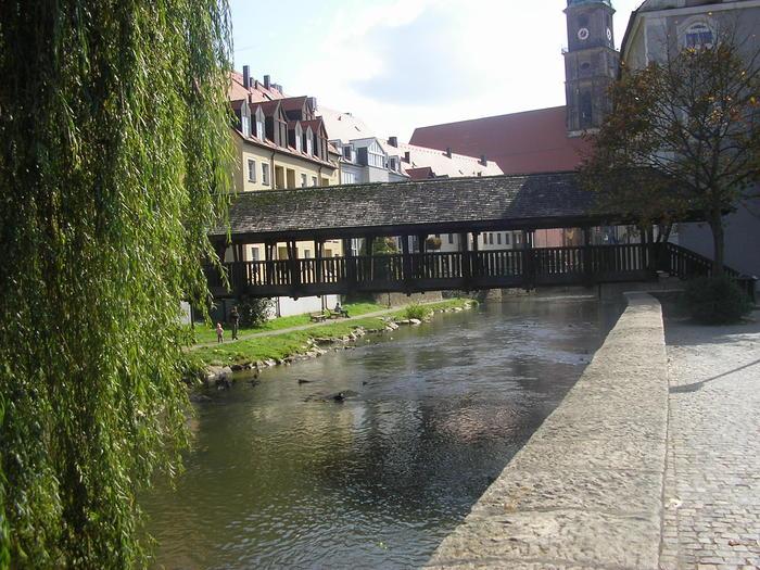 Brücke über die Vils in Amberg