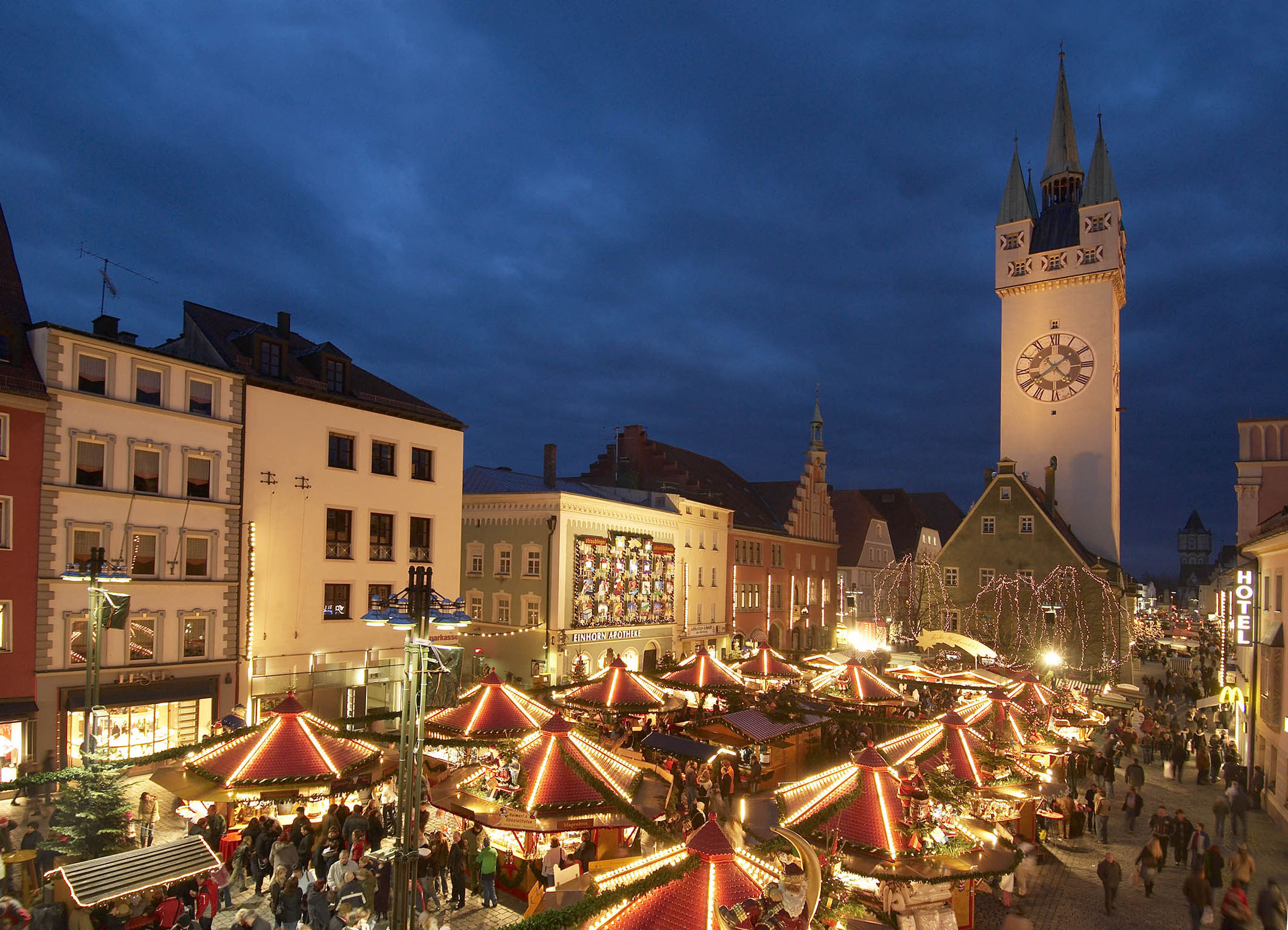 Christmas Market in Straubing - Straubinger Christkindlmarkt