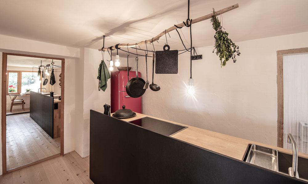 Küche Haidl-Madl Ferien&Wohnen
