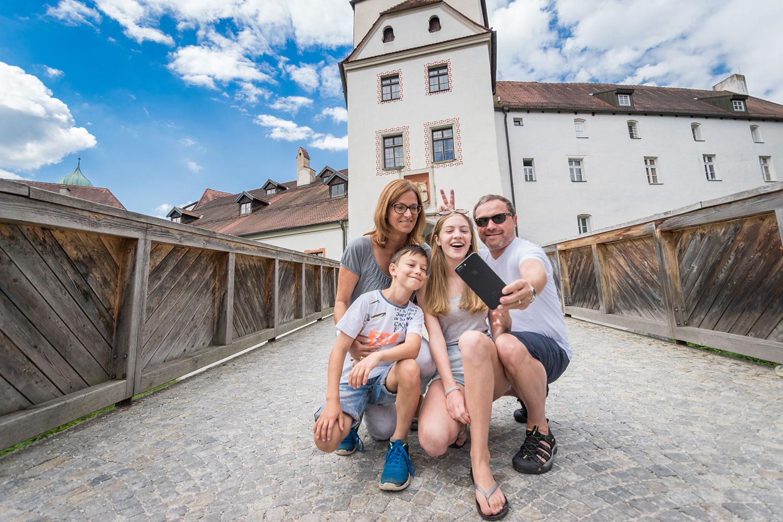 Die Veste Oberhaus gilt als Wahrzeichen der Dreiflüssestadt Passau.