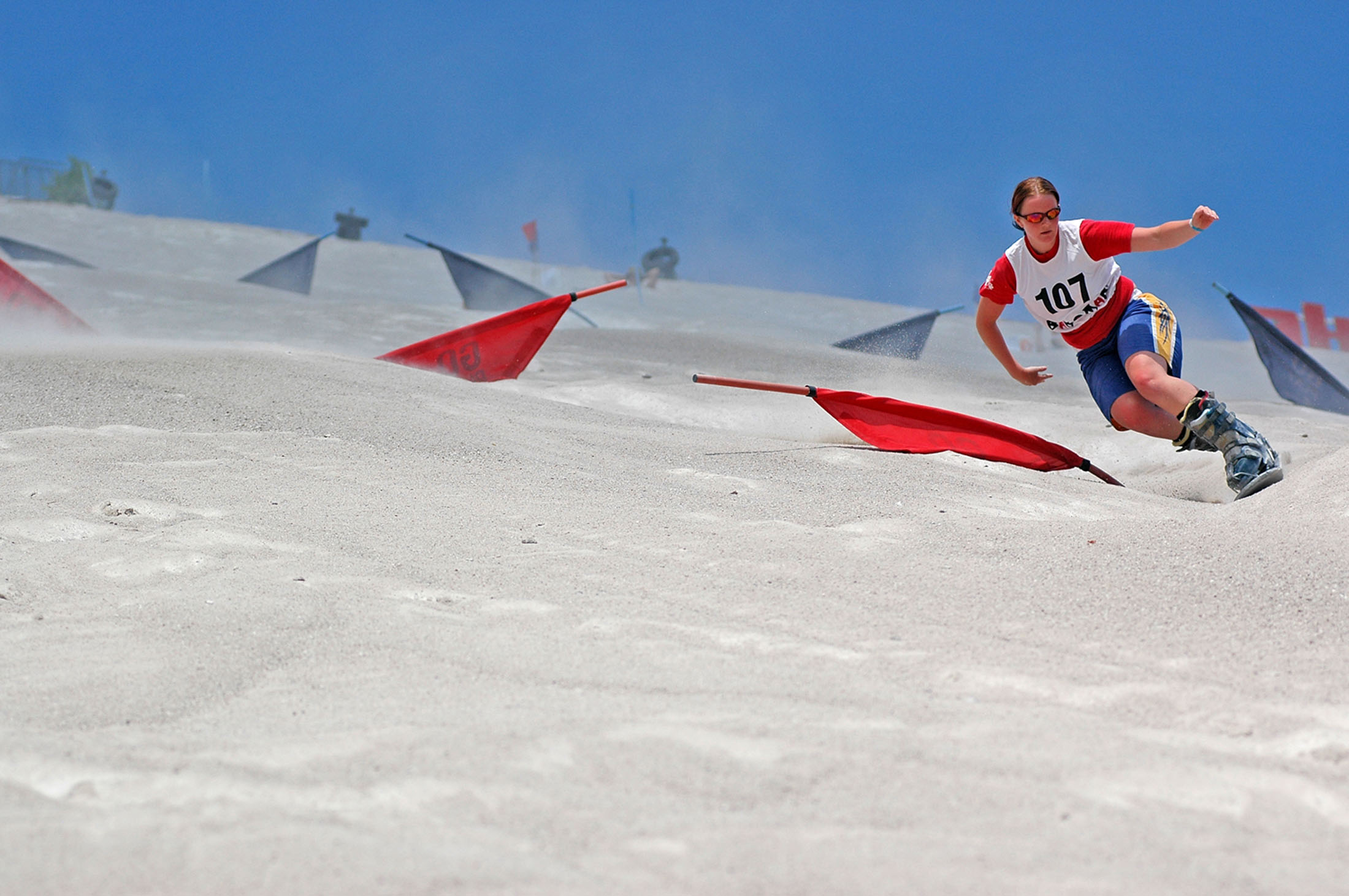 Sandboarding at Monte Kaolino - Sandboarden am Monte Kaolino